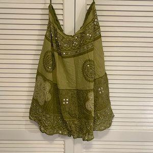 Woven Works Couture for Kids Medium Boho Skirt.